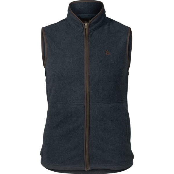 Seeland Woodcock Fleece Waistcoat - Classic Blue (Navy) - Lucks of Louth