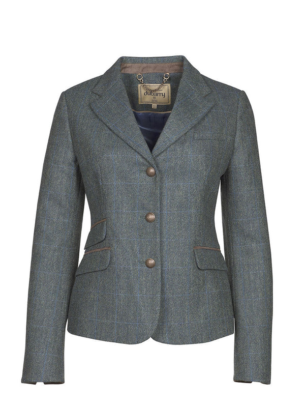 Dubarry Buttercup Tweed Jacket -Mist - Lucks of Louth