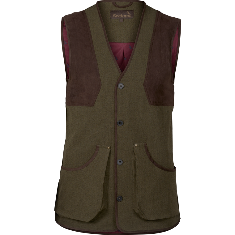 Seeland Woodcock Advanced Waistcoat - Shaded Olive - Lucks of Louth