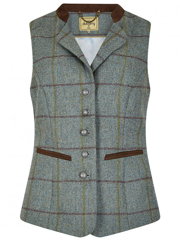 Dubarry Spindle Tweed Waistcoat - Sorrel - Lucks of Louth
