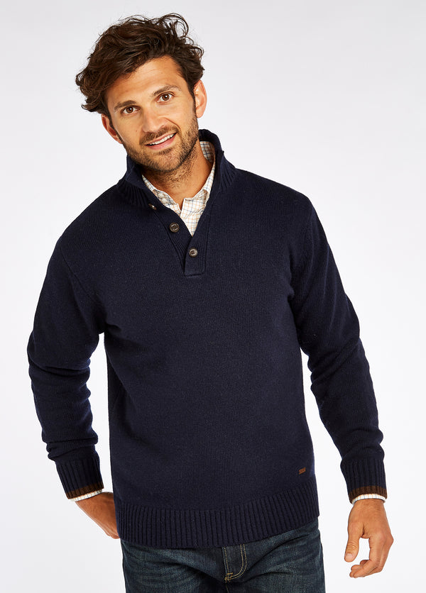 Dubarry Hughes Knitted Sweater - Navy - Lucks of Louth
