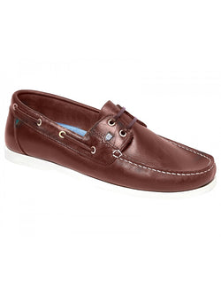 Dubarry Port Moccasin Deck Shoe-Brown - Lucks of Louth