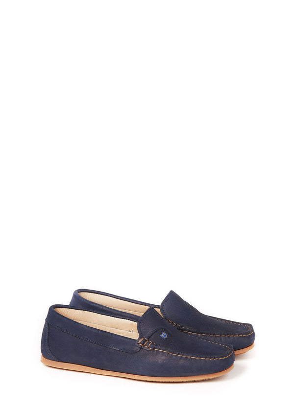 Dubarry Bali Deck Shoes - Navy - Lucks of Louth