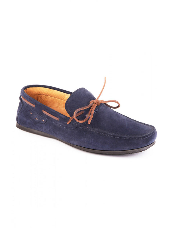 Dubarry Nevis Moccasin Deck Shoe - French Navy - Lucks of Louth