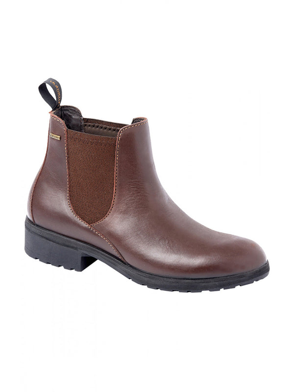 Dubarry Waterford Chelsea Boot - Mahogany - Lucks of Louth