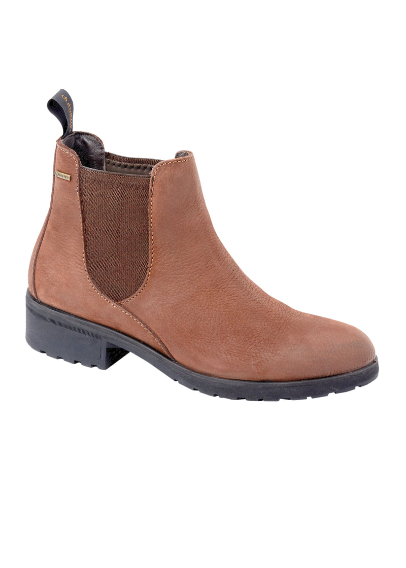 Dubarry Waterford Ankle Boot - Walnut - Lucks of Louth