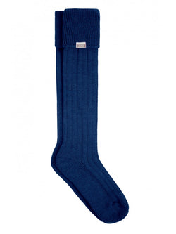 Dubarry Alpaca Wool Shooting Socks - Navy - Lucks of Louth