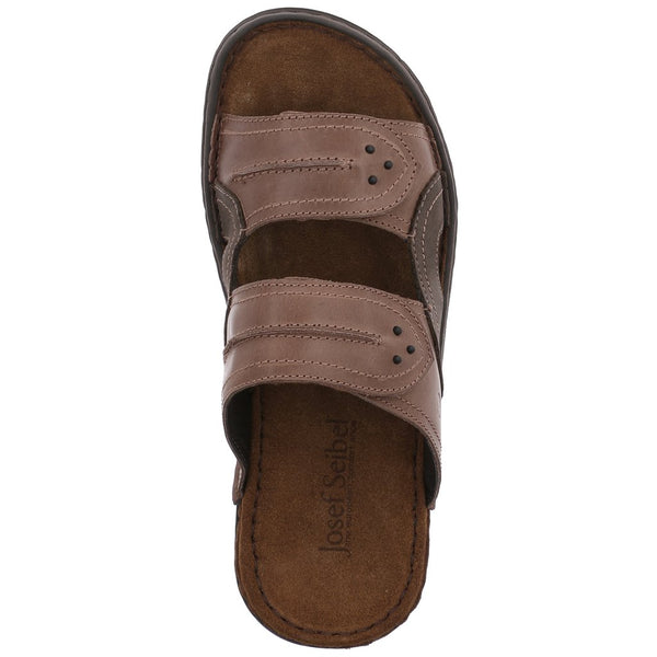Josef Seibel Paul 07 Sandal - Cafe/ Asphalto (Brown) - Lucks of Louth