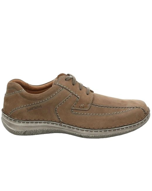 Josef Seibel Anvers 08 Extra Wide Shoe - Taupe - Lucks of Louth