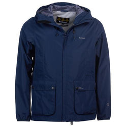 Barbour Bennett Waterproof Jacket - Navy - Lucks of Louth