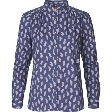 Seeland Skeet Woman's Feather Shirt- Lilac - Lucks of Louth