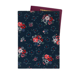 Cath Kidston Lucky Bunch Passport Holder - Ink - Lucks of Louth