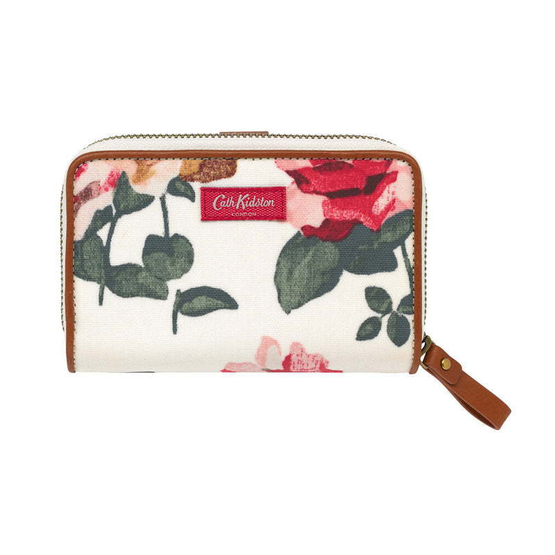 Cath Kidston Chiswick Rose Medium Wallet - Warm Cream - Lucks of Louth