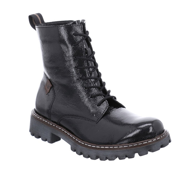 Josef Seibel Marta 02 Boot - Black Patent - Lucks of Louth