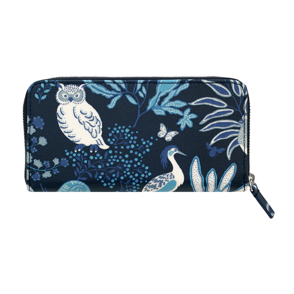 Cath Kidston Magical Memories Continental Zip Wallet - Navy - Lucks of Louth