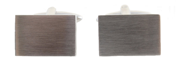 Dalaco Brushed Rectangle Cufflinks - Lucks of Louth