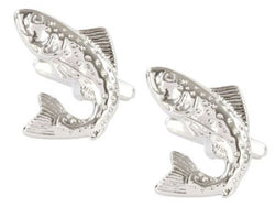 Dalaco Salmon Fishing Cufflinks - Lucks of Louth