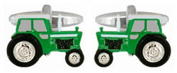 Dalaco Green Tractor Cufflinks - Lucks of Louth