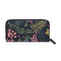 Cath Kidston Twilight Garden Continental Zip Wallet - Navy - Lucks of Louth