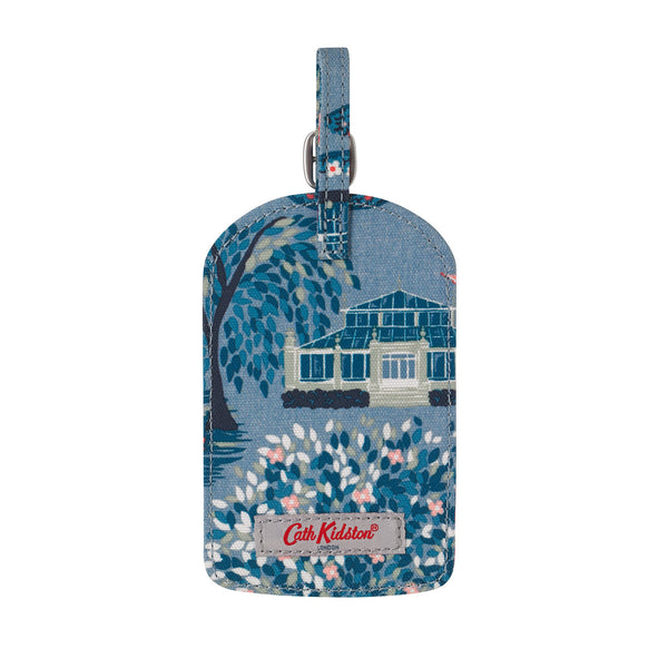 Cath Kidston Botanical Garden Luggage Tag - Blue - Lucks of Louth