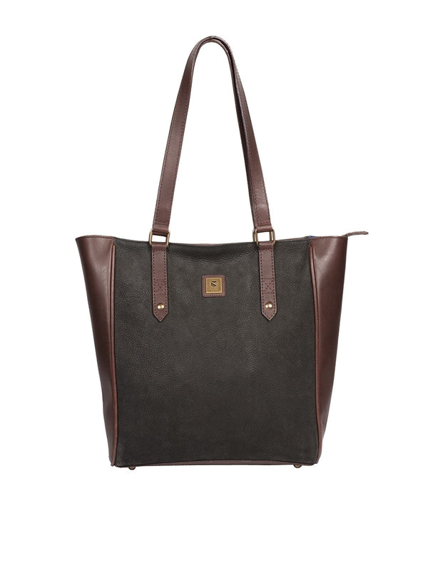 Dubarry Bandon Tote Bag - Black/Brown