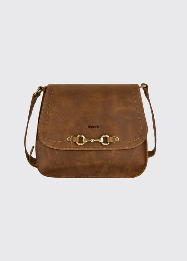 Dubarry Ballycroy Saddle Bag - Brown - Lucks of Louth