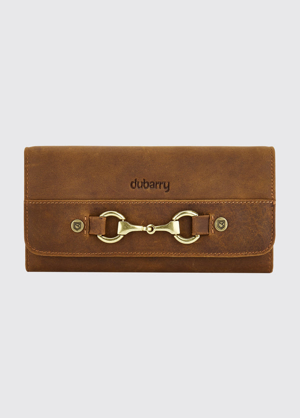 Dubarry Cong Leather Purse - Brown - Lucks of Louth