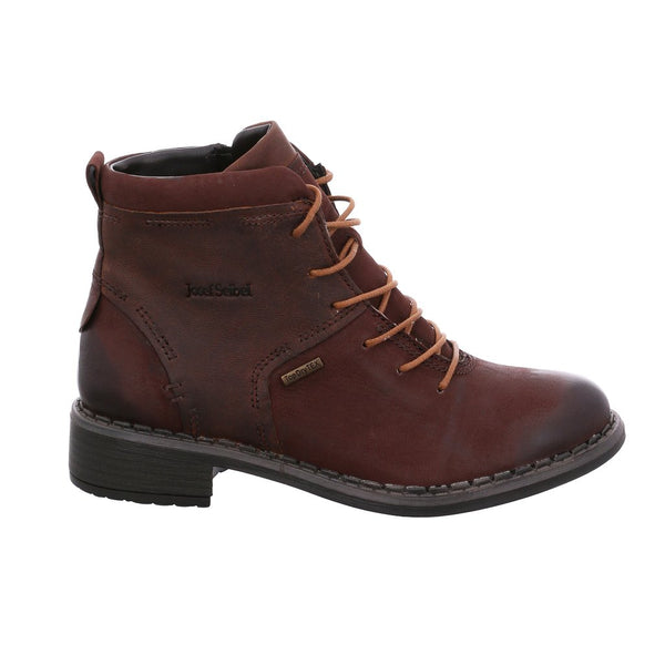 Josef Seibel Selena 50 Lace up boot - Moro Brown - Lucks of Louth