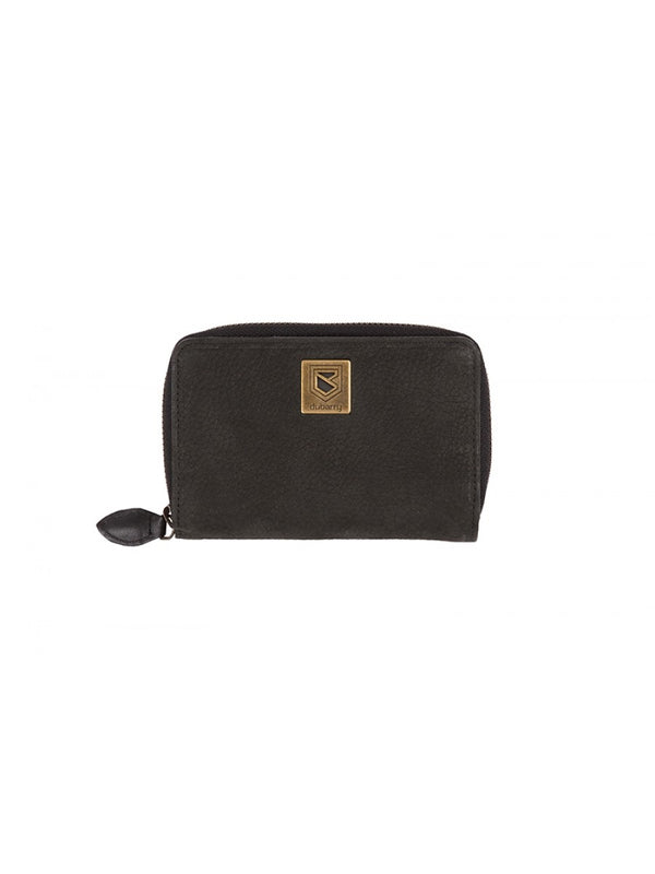 Dubarry Enniskerry Leather Wallet - Black - Lucks of Louth