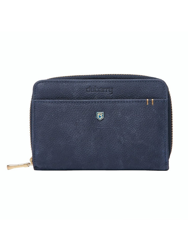 Dubarry Portrush Leather Wallet - Navy - Lucks of Louth