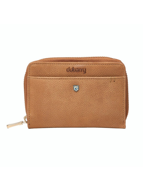 Dubarry Portrush Leather Wallet - Tan - Lucks of Louth
