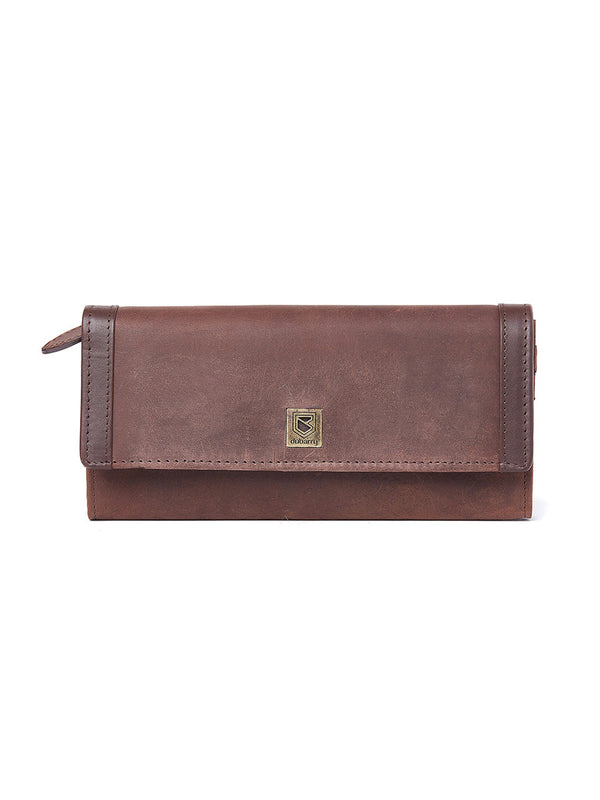Dubarry Collinstown Purse Wallet - Old Rum - Lucks of Louth