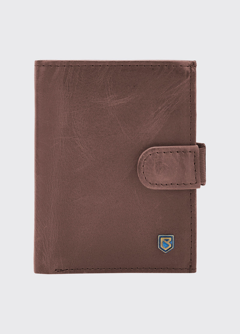 Dubarry Thurles Leather Wallet - Old Rum - Lucks of Louth