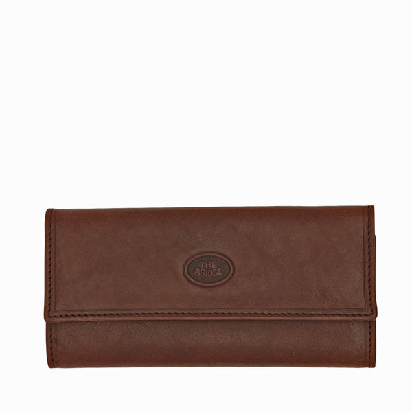 The Bridge 01.8026.01 Uomo Key Case - Brown