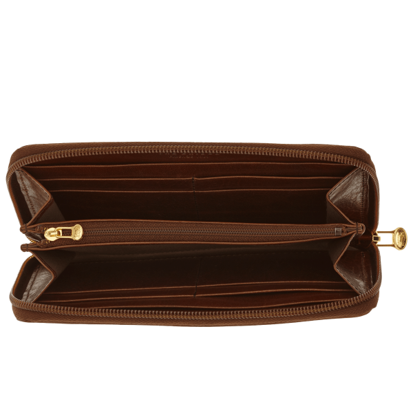 The Bridge 01.7747.01 Donna Ladies Wallet - Brown - Lucks of Louth