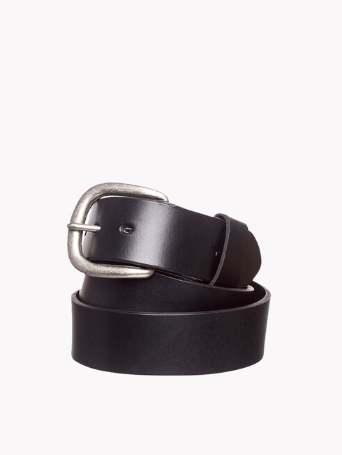 RM Williams Traditional Belt - Black - Lucks of Louth