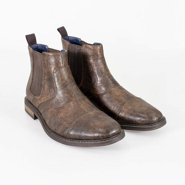 Cavani Bristol Chelsea Boot - Brown - Lucks of Louth
