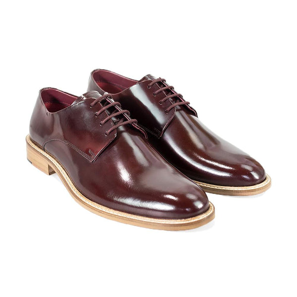 Cavani Foxton Signature Shoes - Wine - Lucks of Louth
