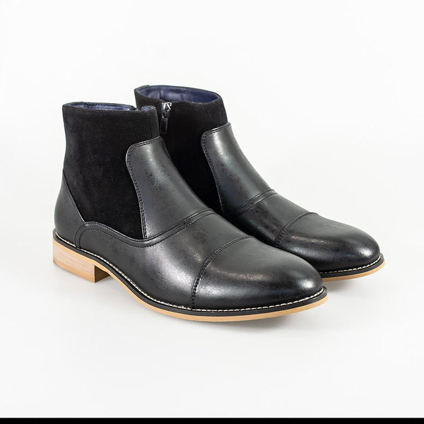 Cavani Halifax Size Zip Boot - Black - Lucks of Louth