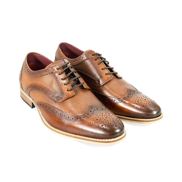 Cavani Tommy Signature Shoes - Brown - Lucks of Louth