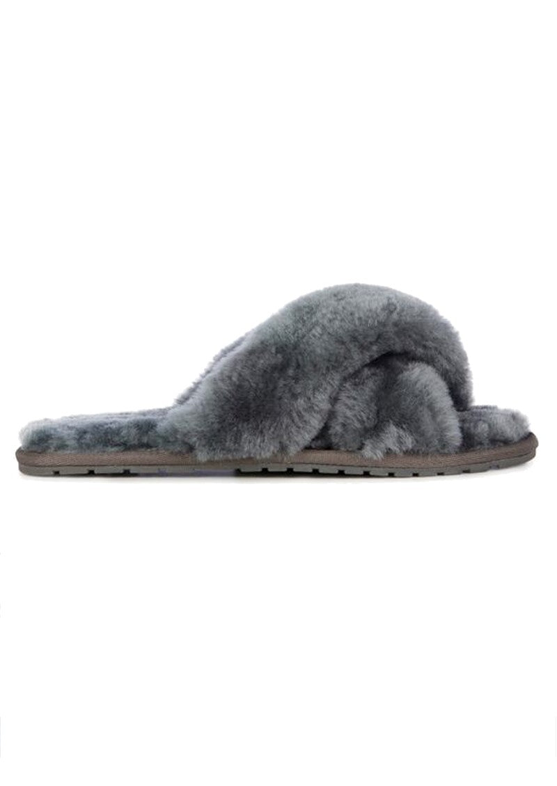 EMU Mayberry Slipper - Charcoal (Grey) - Lucks of Louth