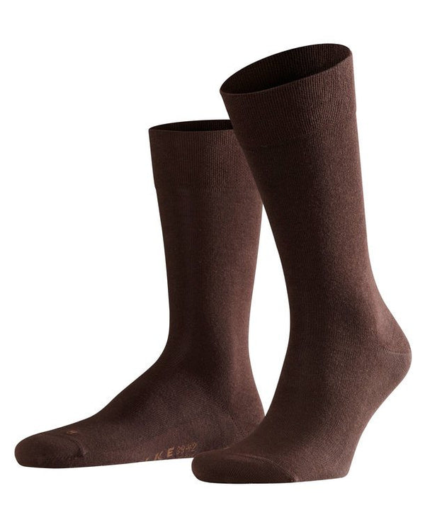 Falke Sensitive London Socks - Brown - Lucks of Louth
