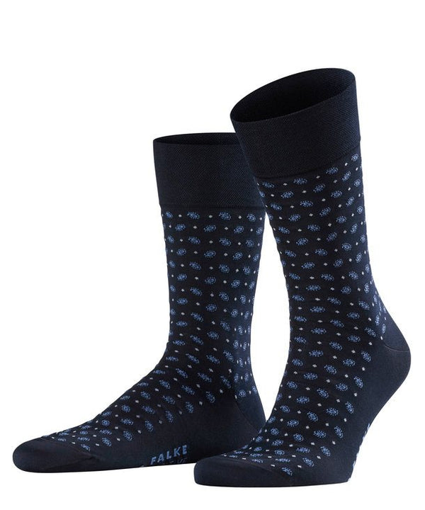 Falke Sensitive Jabot Socks - Dark Navy - Lucks of Louth