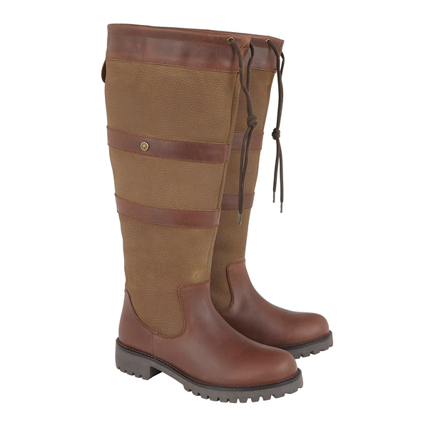 Cabotswood Highgrove (Wide Fit) Waterproof Country Boot - Chestnut - Lucks of Louth
