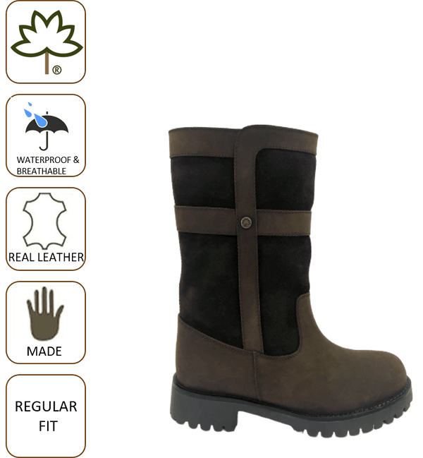 Cabotswood Henley Boots - Chocolate - Lucks of Louth