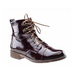 Josef Seibel Sienna 17 Boot - Oxblood (Patent Burgundy) - Lucks of Louth