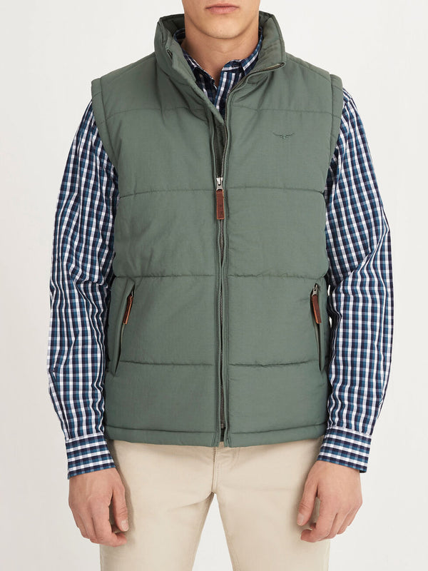 RM Williams Patterson Creek Vest - Eucalypt - Lucks of Louth