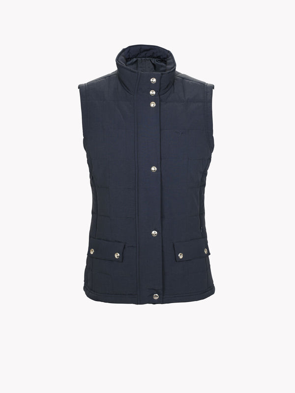 RM Williams - Wilpena Gilet - Navy - Lucks of Louth