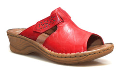 Josef Seibel Catalonia 32 Sandal - Rot (Red) - Lucks of Louth