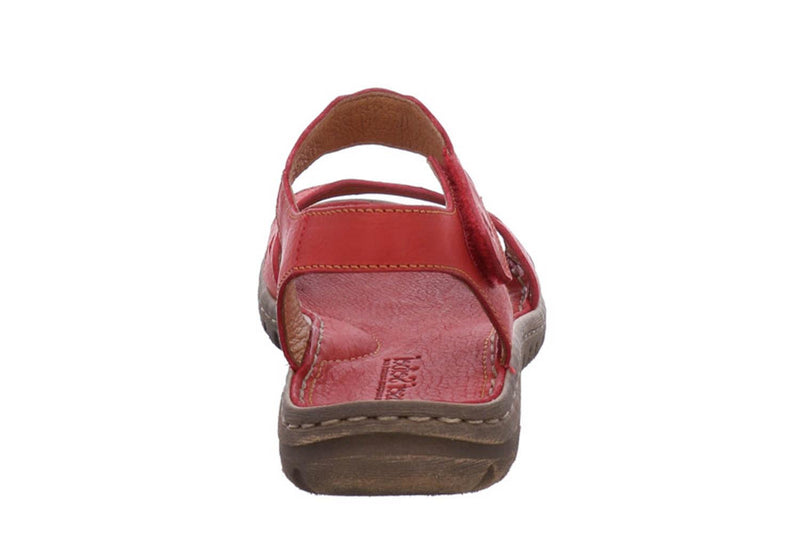 Josef Seibel Lucia 07 Sandal - Rot (Red) - Lucks of Louth